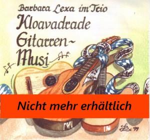 BLX 004 - kloavadraade Gitarrenmusi - 1999