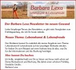 Für den Newsletter von Barbara Lexa anmelden